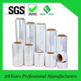 Película de alongamento transparente LLDPE Wrap Wrap (SGS / ISO9001 Aprovado)