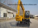 Pequeños excavadores multiusos de la rueda de Baoding