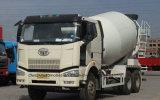 FAW 10 바퀴 시멘트 믹서 트럭 6-8 M3 구체 믹서 트럭