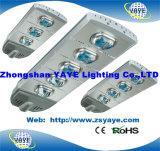Yaye 18 Hot vendre 50W/100W/150W/200W/250W/300W COB Rue lumière LED / LED lampe de la rue avec ce/RoHS/2/3/5 ans de garantie