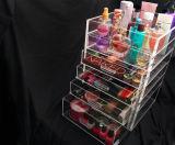 명확한 Acrylic Makeup 및 Cosmetic Organizers, Drawer Organizers, Lightweight, Visible, Durable, Clean에 Easy