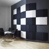 Parede de decoração de interiores insonorizados Painel acústico com fibra de poliéster (PAP10)