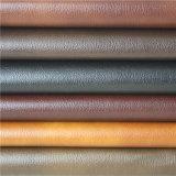 Cuir industriel de PVC de synthétique de qualité pour la fabrication de meubles de sofa
