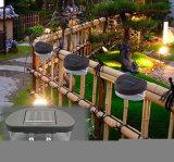 2つのLEDの太陽庭の壁ランプ、景色の塀ライト