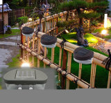 2 LED Solar jardín lámpara de pared, el paisaje de la luz de cerco
