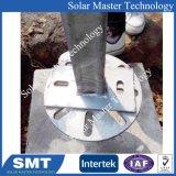 De Schroef van de grond met Hete ONDERDOMPELING die voor ZonneSteun wordt gegalvaniseerd - steunSysteem