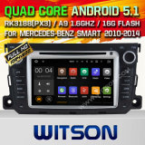 Android Witson 5.1 DVD carro GPS para Mercedes Benz Smart
