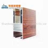 Perfil de aluminio madera Madera revestidos de Casement Window