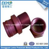Peças de usinagem CNC de precisão anodizada de cor para instrumentos industriais (LM-2348)