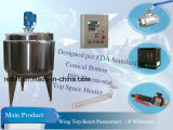 150gallons Batch Pasteurizer con Chart Recorder