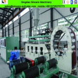 기계 2600mm를 만드는 강철에 의하여 강화되는 HDPE 나선 물 배수장치 관