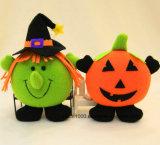 Novo Estilo de Halloween de pelúcia brinquedo programável recheadas de abóbora