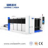 Taglierina Lm3015hm3 del laser della fibra di CNC automatico della lamina di metallo e del tubo