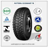 Tous les pneus radiaux en acier 275/80r22.5 (ECOSMART 78) de camion et de bus