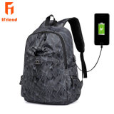 Custom Nij Iiia Bulletproof camuflagem à prova de água portátil de carregamento USB inteligente mochila de Viagem