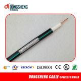 Câble coaxial RG6 Nouveaux matériaux pour CCTV Système satellite CATV Rg59 / RG6 Câble coaxial