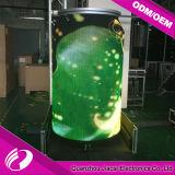 Afficheur LED rond polychrome d'intérieur de 360 degrés P6