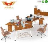 6人のための新しいモジュラー区分のオフィスワークステーションオフィスのキュービクル(H30-0237)
