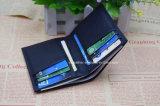 Полный бумажник кожи Mens зерна с Multi владельца карточки