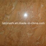 Marbre d'orange, carreau de marbre rouge rose pour le plancher, décoratif