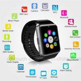 昇進のギフト(GT08)としてSIMのカードが付いているBluetoothのスマートな腕時計