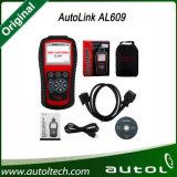 2016 Original Autel Autolink Al609 Diagnostique les codes du système ABS sur la plupart des modèles majeurs de véhicules de 1996 et les plus récents