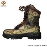 Botas de caça militar de camuflagem de lona impermeável (WHB010)