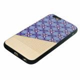Аргументы за мобильного телефона затира TPU PU гибридное iPhone-Пурпуровое