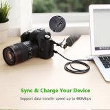 Mini-Typ a USB-Kabel USB-2.0 zum Minib-Kabel für Gopro Held 3+, Held HD, Handys, Spieler MP3