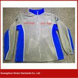 Mens 우연한 옥외 뜨개질을 한 착용 싼 진한 파란색 양털 재킷 (J138)