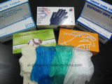 Wegwerfpuder frei oder pulverisierte Handschuhe für Lebensmittelindustrie/Schönheit