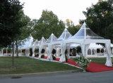De Tent van de Pagode van Upal met het Profiel van het Aluminium en de Textiel van pvc Polyster