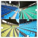 Precio de fábrica de metal al aire libre Gradas / Banco con asientos de plástico para Playgound, Gimnasio, Escuela
