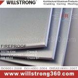 Composto de alumínio à prova de fogo Panel/ACP da espessura de Willstrong 6mm