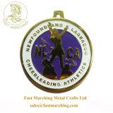 工場価格のカスタムギフトのフィニッシャーのオンラインで円形のAustraialのエナメルメダル