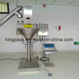 Máquina de rellenar del polvo semi automático del taladro con la abrazadera y el dispositivo del asimiento