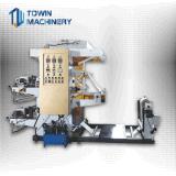 기계 (TW-21000)를 인쇄하는 2개의 색깔 Flexo