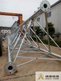 Torretta di comunicazione d'acciaio autosufficiente della torretta del tubo dei 3 piedini