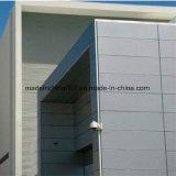 Uso esterno resistente ai colpi del grado A1 attraverso il pannello di rivestimento della parete di colore