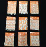 Тип ткани шнурка Offwhite люкса флористический Sequenced богемский для мантии венчания