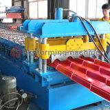 機械を形作る正常なアークカラー鋼鉄によって艶をかけられるタイルロール