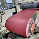 Мэтт складок PPGI Prepainted оцинкованного стального листа в обмотке