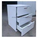 L'alta qualità calda di vendita facile monta il tavolino da notte dei 3 cassetti