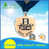 Medalha simbólica personalizada alta qualidade do ouro da lembrança da raça para jogos dos Olympics