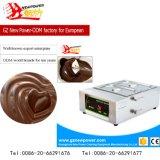 شوكولاطة مزدوجة كهربائيّة يذوب آلة مع [ستينلسّ ستيل] 201 ([نب-34])