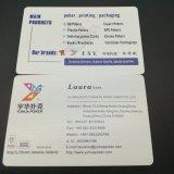 Tarjetas de visita de encargo dirigidas grabadas del papel de algodón de la impresión de la prensa de copiar Yh331