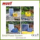 Power Solution Kits d'éclairage solaire à domicile pour une mauvaise électricité