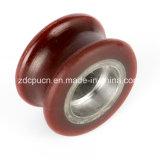 Rotelle di nylon resistenti supplementari lancianti cancello/del portello scorrevole con la memoria del metallo