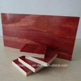 18mm película roja enfrenta el contrachapado de madera contrachapada de encofrado