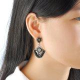 Повелительница Ювелирные изделия Серьга роскошного Gemstone типа Индии кристаллический